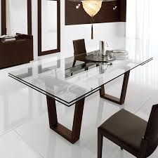 Glass Dining Room Table With Extension