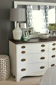 diy bedroom furniture. Painted Dresser And Mirror Makeover (Master Bedroom Furniture) Diy Furniture I