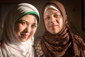 photo essay the kids trying to end child marriage women girls raneem has the full support of her mother um abdo right as