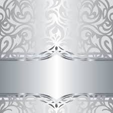 silver holiday wallpaper.  Wallpaper Shiny Silver Floral Decorative Holiday Vintage Invitation Wallpaper  Background Design Stock Vector  53426381 And Silver Holiday Wallpaper N