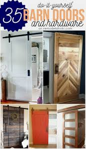 diy barn doors plus budget friendly rolling door hardware options remodelaholic