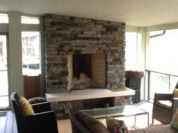 outdoor fireplaces and fire pits columbus decks porches