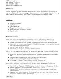 political campaign manager resume download political resume ajrhinestonejewelry com