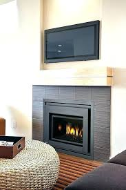 corner gas fireplace propane for dimensions natural ventless home depot corn