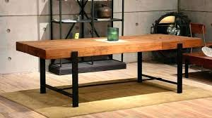 metal and wood rectangular chandelier amazing modern rustic dining room industrial with amazi