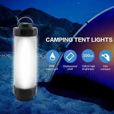 Boruit Brand Camping Light Rechargeable Led Outdoor Lamp Usb Camping