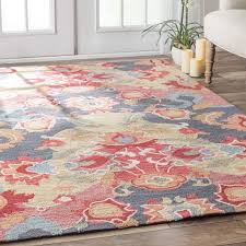 excellent maastricht bluered area rug reviews joss main within blue and red area rug modern