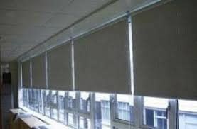 office window blinds. Roller Blinds. Solar Shade Blinds Office Window O