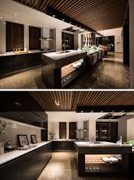 Kitchen island dining table Hidden Slightly Raised Up From The Dining Table Is The Last Section The Kitchen Countertop This Area Has Sink And Thick Stone Countertop Contemporist Design Detail This Extra Long Kitchen Island Is Used As Food