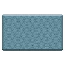 Shop Mohawk Home Blue Anti Fatigue Mat mon 1 1 2 ft x 2 1 2