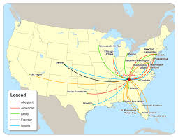 east tennessee economic development agency  daily flights