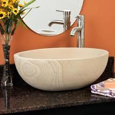 vessel sink tall bowl sandstone vessel sink vessel sink drain hole size