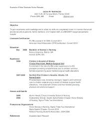 new grad nursing resume clinical experience sample nursing resume sample nursing resume with clinical experience