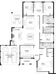 simple 4 bedroom house plans delightful marvelous 4 bedroom house plans best 4 bedroom house plans