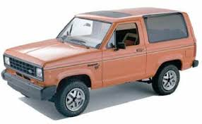 ford bronco ii and ranger start ignition wiring diagram 1984 ford bronco ii