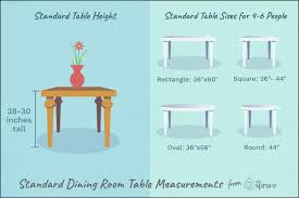 round dining room table for 6 ideas for standard dining table measurements