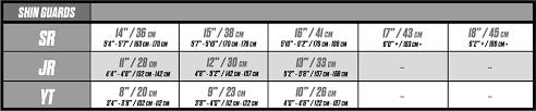 Ccm Goalie Pants Sizing Chart Ccm Ccm S19 Classic Pro Tacks Shin Guard Senior