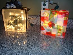 lighted glass block make a decorative light in under 60 minutes by