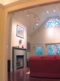 lighting in vaulted ceiling ceiling vaulted track lighting intended for ceilings pertaining to present house
