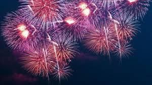 2017 Fireworks Schedule
