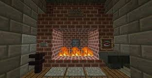 unique how to make a fireplace in minecraft pe fitspired me