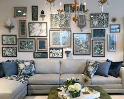 home trend furniture. The Trend Was So Popular At Market That They Offered Classes On How To Create Striking Effect. Try It Yourself, And Build Your Own Art Collection. Home Furniture 3