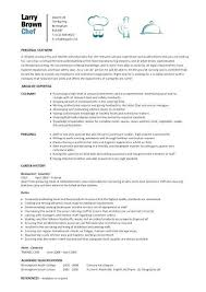 chef resume samples. Chef Resume Samples Free Complete Guide Example