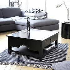 black wood coffee table designs for our house chocoaddicts com with drawers ikea s storage canada