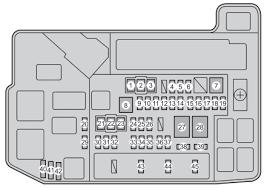 2011 toyota prius fuse box diagram vehiclepad 2004 toyota toyota prius plug in hybrid 2011 2015 fuse box diagram