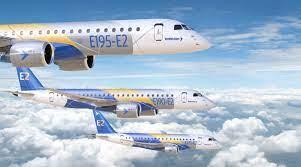 Embraer terá cinco aviões de testes da família E-Jet E2 · AERO Magazine