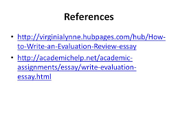 evaluation essay lecture recap how to write an argumentative  35 references