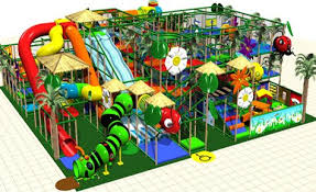 bug themed play structure
