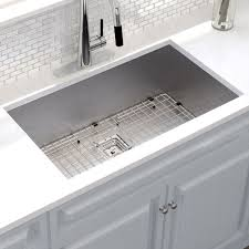 Khu32 Kraus Pax 31 X 18 Undermount Kitchen Sink With Drain