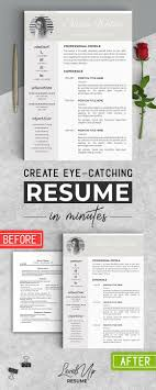 Resume Templates Design Resume Template For Word Creativework247