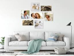 photo wall collage at home with your