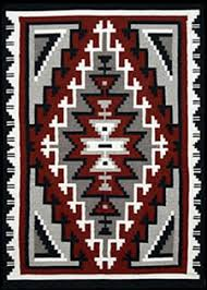 Traditional navajo rugs Present Day Navajo Rug Ganado Woven By Emma Begay 33 1stdibs Monument Valley Turquoise Magazine