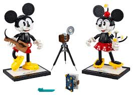 Mickey Mouse & <b>Minnie Mouse</b> Buildable Characters 43179 ...