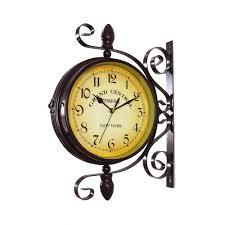 hanging wall clock clocks with pendulum antique india