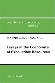 essays in the economics of exhaustible resources volume st  essays in the economics of exhaustible resources 1st edition isbn 9780444867919 9781483294957