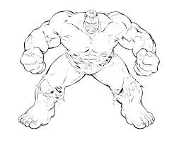 the hulk coloring pages page free pictures smash