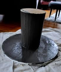 red house west diy concrete pedestal table