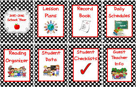 Teacher Binder Templates Simplify Your Life With An All In One Teacher Organizer Scholastic