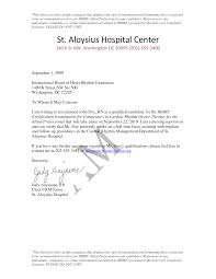 Recommendation Letter For Nursing School Free Cover Letter