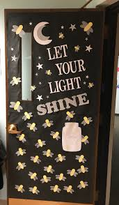 Let Your Light Shine Lds Primary Firefly Let Your Light Shine School Door Decorations