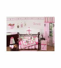 sweet jojo designs jungle friends 9 piece crib bedding set 14 jpg