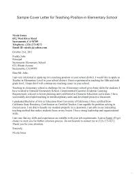 What To Include In A Teaching Cover Letter Teacher Cover Letter