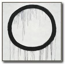 hand painted extra large abstract painting minimalist drip painting on canvas black white grey hand paint abstract painting