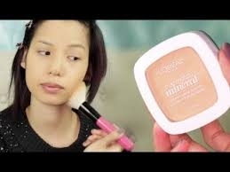 new l oreal true match mineral powder review demo