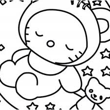 Hello Kitty Drawings Easy Bad Unicorn Free Pages Step By