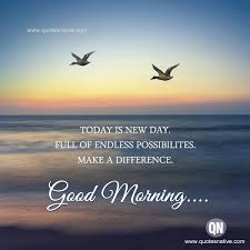 New Day Quotes Custom Today Is New Day WISHES Quotes